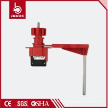 Bloqueio da válvula do portão da roda manual BD-F31, bloqueio com válvula de esfera de um quarto de volta para um único braço, com padrões compatíveis com OSHA