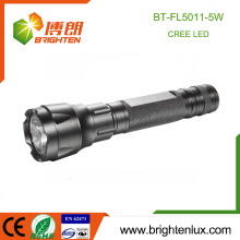 Factory Supply Aluminium Emergency 1 * 18650 Usé Multi-fonctionnel Tactical CREE 5W led Torch Light Rechargeable Night Light