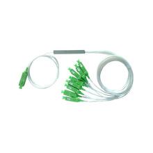 FTTH 1x8 SC/APC G657A1 Steel Tube PLC Splitter/ Mini Steel Tube PLC splitter