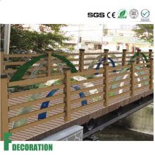 WPC Wood Plastic Composite Waterproof Anti-UV Railing for Park Decoration