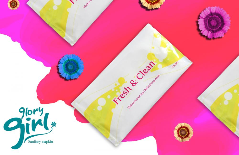 Push Clean Wet Wipes