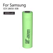 Bateria recarregável de iões de lítio de alta qualidade 18650 3.7V 3000mAh Icr18650-30b