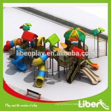 Niños al aire libre Playground de plástico Jungle Gym
