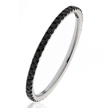 1 Row Diamond Simple Design 925 Silber Ring Schmuck