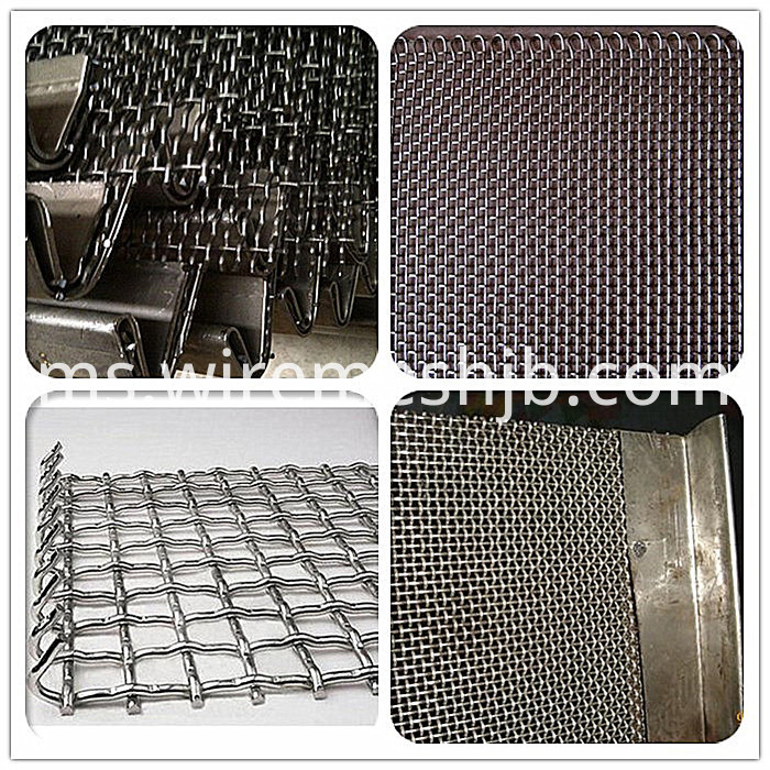 Square wire net