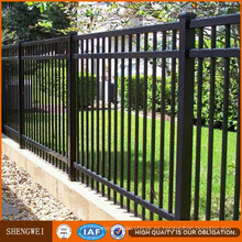 Paneles decorativos baratos de la cerca de la seguridad del hierro del metal