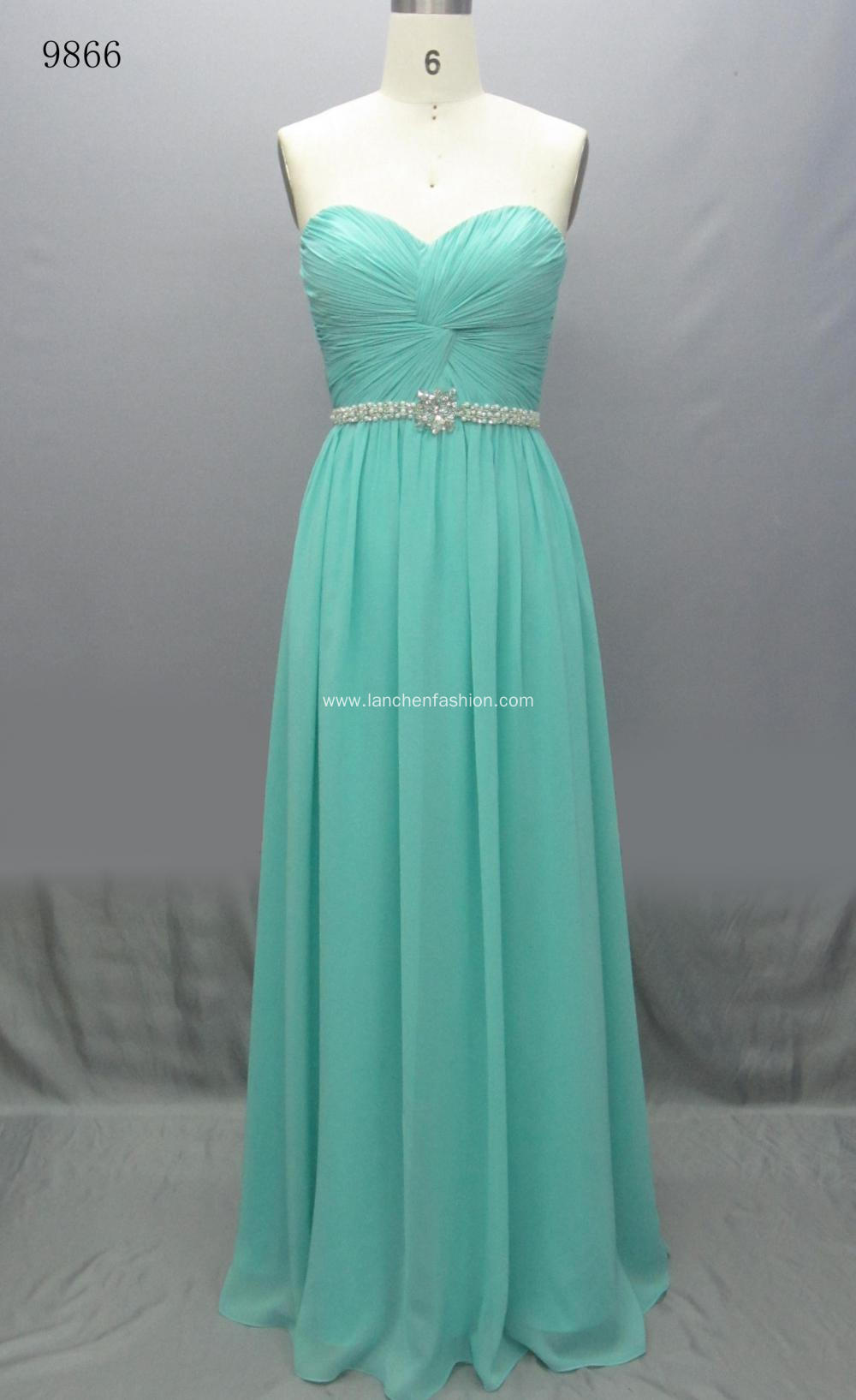 Vintage Elegant Long Maxi Prom Dress