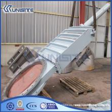 Válvula de compuerta de acero de alta presión modificada para requisitos particulares (USC10-014)