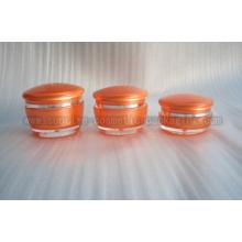 Mushroom Shape Cream Jar J035N