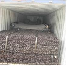 Malha de arame ondulado galvanizado / malha de arame tecida
