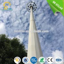 Iluminação alta do mastro do dispositivo de controle elétrico do dispositivo de 15M 18M 30M com mastro telescópico