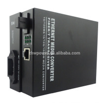 10/100/1000M Gigabit Fiber Optic to RJ45 Media Converter