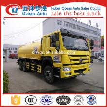 20000 litros SINOTRUK HOWO caminhão de transporte de água potável