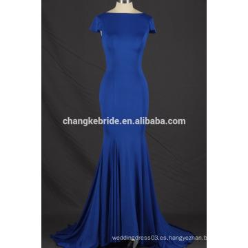 2017 Vestido de partido abierto de la sirena del vestido de noche del último del diseño del spandex atractivo libre del último