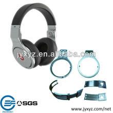 la última pieza de auriculares de fundición de aluminio de diseño