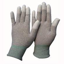 Gants Gants de coton doublés au nitrile doux Gant de travail résistant à la coupe