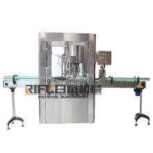 Automatic ROPP Aluminium Wine Bottles lids Capping Machines with high quality for Manufacturing Plant