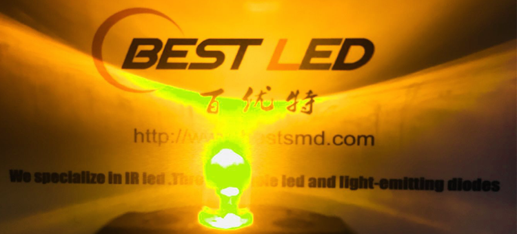 yellow led