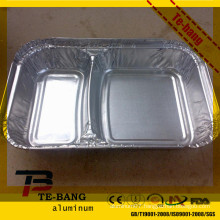 aluminum trays and lids for ready meal
