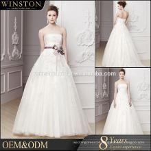 High Quality Custom Made high-low wedding dress patterns