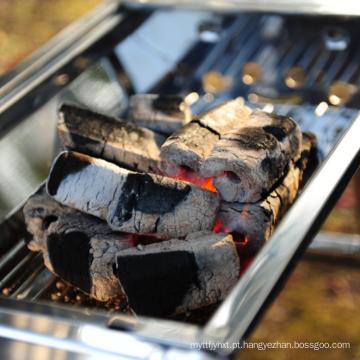 Melhor Preço 100% Natural Barbecue Churrasco Carvão Amassado Briquete para Venda