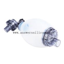 Masque facial en silicone d'anesthésie réutilisable