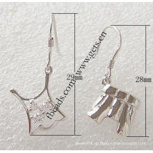 Gets.com 2015 Mode 925 Sterling Silber Lakh Ohrring