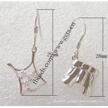 Gets.com 2015 мода стерлингового серебра 925 серьги лак