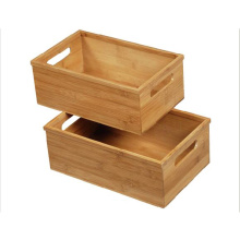 Bamboo multi-purpose storage box