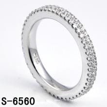 Bague en bijoux en argent sterling 925 en argent sterling pour femme (S-6560. JPG)