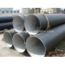 Doublure en mortier de ciment de tuyau d'acier / tuyau d'anticorrosion / tuyau d'eau / tuyau soudé