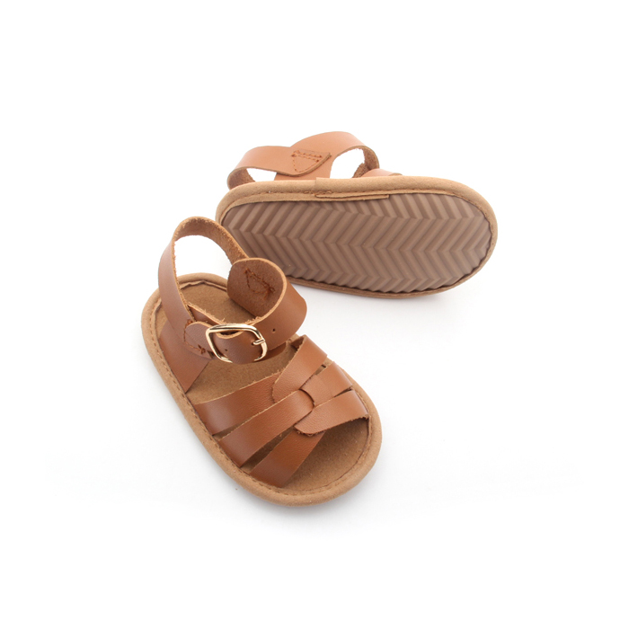 Soft Leather Summer Baby Sandals