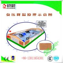 Sistema de ventilación para la casa de /Poultry de invernadero