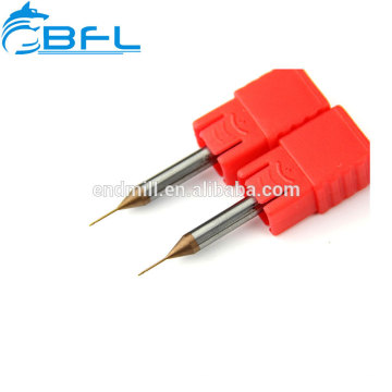 BFL HRC45 CNC-Mikro-Fräser 4Flöten Vollhartmetall-Schaftfräser
