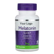 Multivitamin Sugar free Sleep 10MG Melatonin Gummy Candy For Insomnia