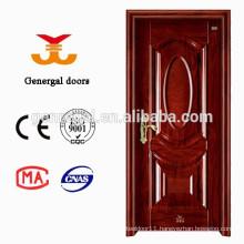 Honeycomb core interior steel doors