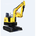 Mesin mini excavator berkualitas andal India