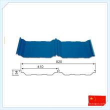 Plaque en métal certifiée par ISO Wiskind pour le toit ou le mur