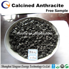 C 92% calcined anthrazit kohle recarbonizer / carbon additiv für stahlwerke