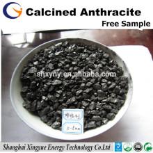 Recarbonizer de charbon d'anthracite C 92% calciné / additif de carbone pour des aciéries