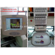 2 heads 9 colors computer embroidery machine for design embroidery (Elucky EG902C)