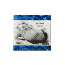 Cadre de photo mdf bleu paua shell