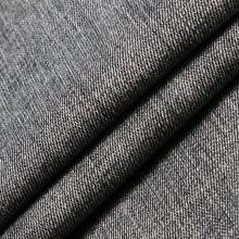 Tissu Spandex Polyester Coton Viscose Noir pour Jeans Denim