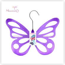 Cabide de roupa em forma de borboleta PP plástico (29,5 * 24cm)