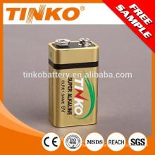 Super Alkaline dry battery 6LR61 size 9v