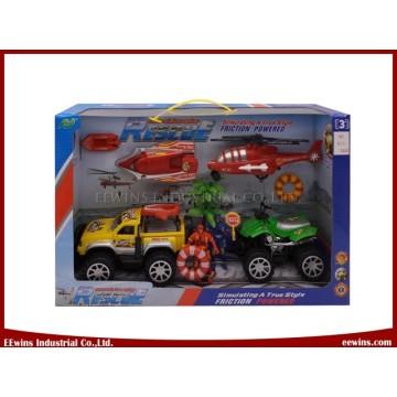 DIY Spielzeug Strand Polizei Rettungsmannschaft Spielsets