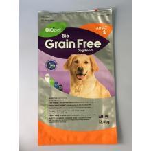 Sac à glissière pour aliments pour animaux de compagnie