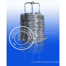 Fio de aço Pickled 0.15-15.0mm / fio patenteado 0.15-6.5mm / Spheroidizing Recobrar o fio de aço