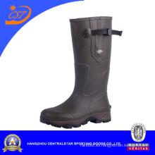 Botas de agua de los nuevos soles de la hebilla lateral
