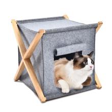 Factory Felt Condo Classic Simple Cat Bed Apartments 2021pet Cat Tree